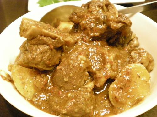 Payung Cafe's Bangladeshi lamb curry