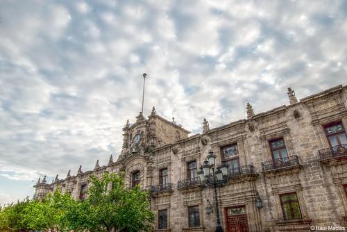 Cielo y Palacio de Gobierno