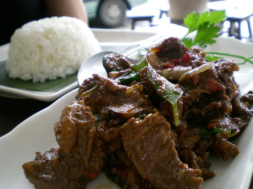 Payung Thai-style beef rice
