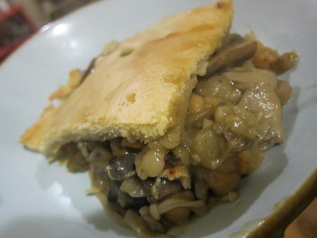 Mushroom pie!