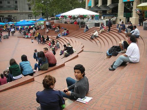 A Mexican Fiesta in Portland's Pioner Square