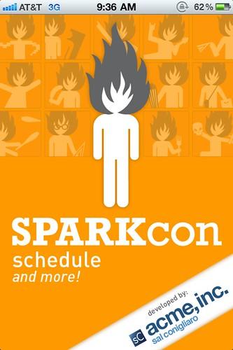 SPARKcon iPhone app