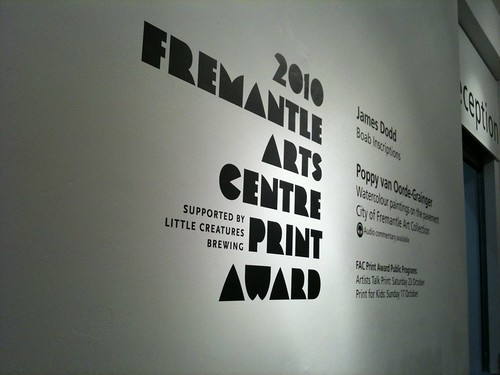 2010 Fremantle Arts Centre Print Award