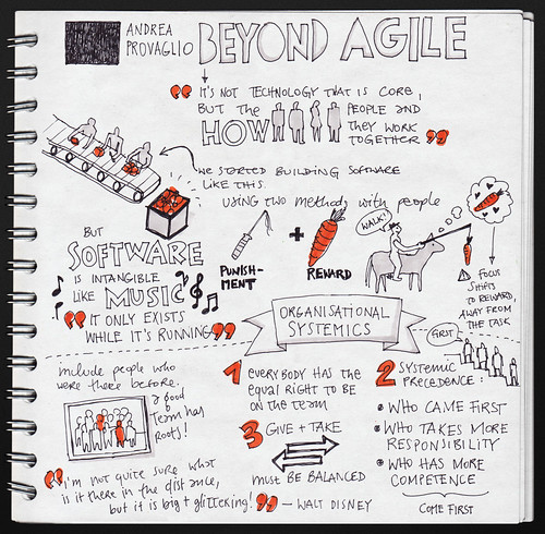 Andrea Provaglio: Beyond Agile @ WebExpo by evalottchen, on Flickr