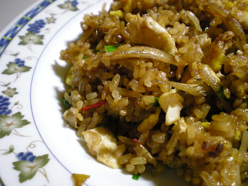 Bario rice - fried