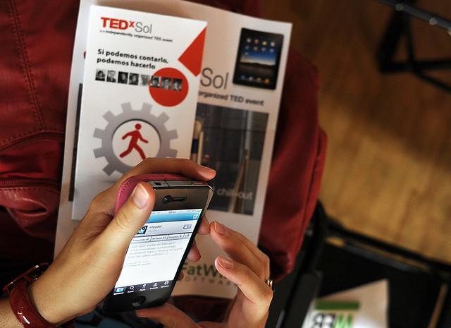 TEDxSol primera edición el martes 5 de octubre de 2010. Foto: TEDxSol