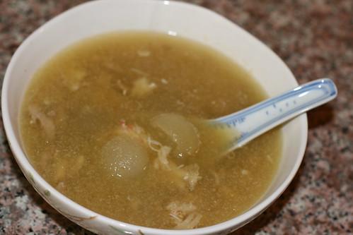 蟹肉雞絲冬瓜茸湯