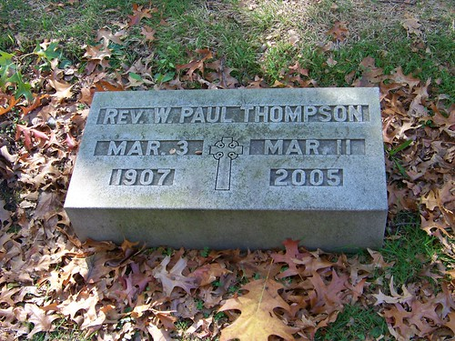 Rev. W. Paul Thompson