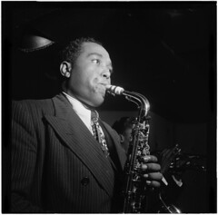 [Portrait of Charlie Parker, Three Deuces, New...