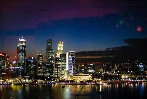 singapore sky line - canon sd1000