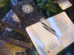 LOST Auction - Hurley's Dharma journals with r...