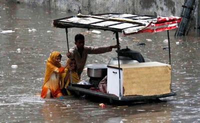 Pakistan flood - Photo : IRIN