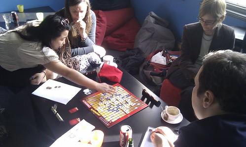 Scrabble Trickster Boardgame @ Cafe Games