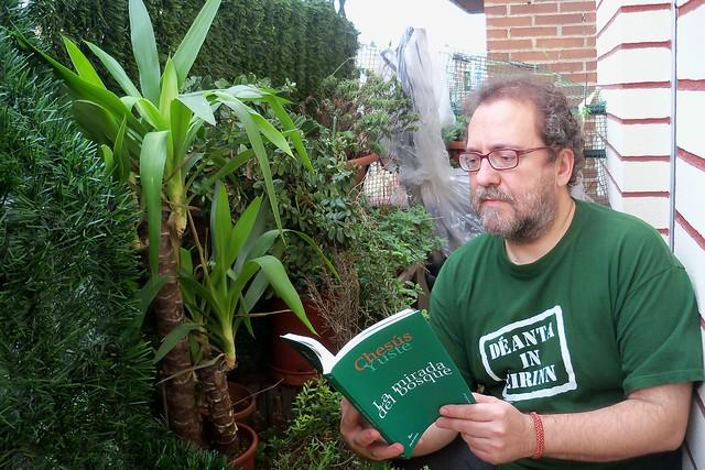 El autor, con 'La mirada del bosque'