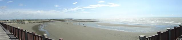 外埔漁港 海灘