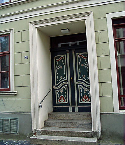 Door in Stralsund, Germany