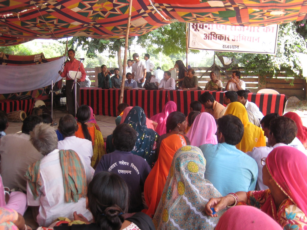 Pics from the satyagraha - 9 Oct 2010 - 3