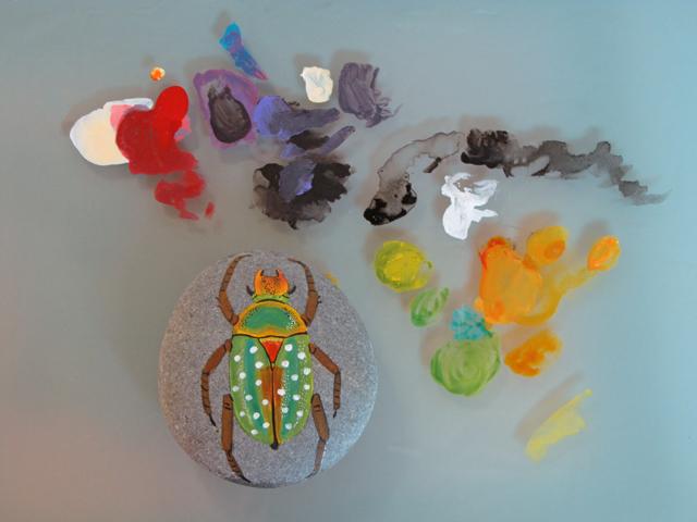 Beetle stone