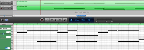 Software instrument - GarageBand