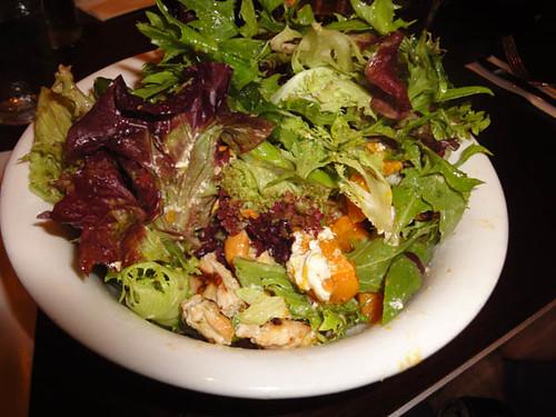 The Edinburgh Castle Hotel: Grilled chicken w/ pumpkin, cashews, asparagus & goat's cheese