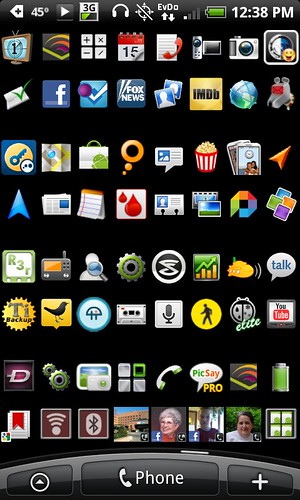 My HTC Desire - Apps I Use