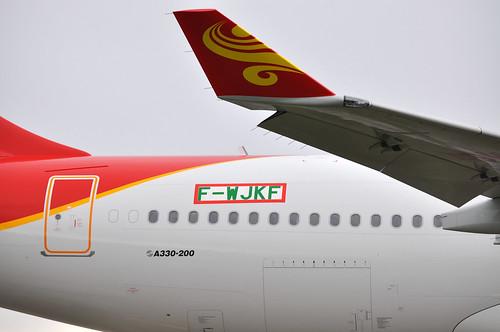 F-WJKF / B-LNF A330-223 MSN 1059 Hong Kong Airlines