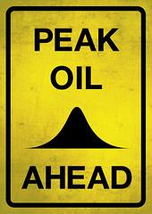 Peak oil ahead