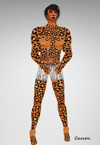 Lapointe Leopard Noir Mens skin, NEKO
