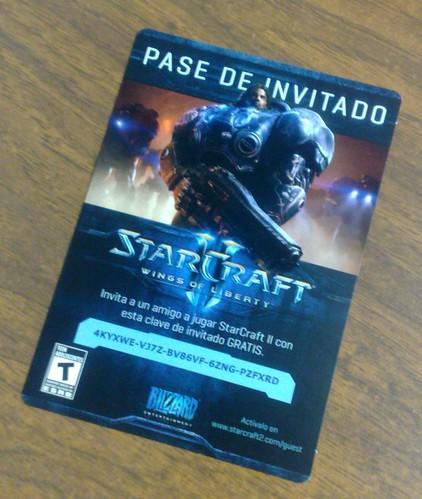 StarCraft 2 - Pase de invitado