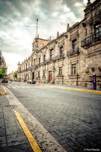Amanecer Palacio de Gobierno
