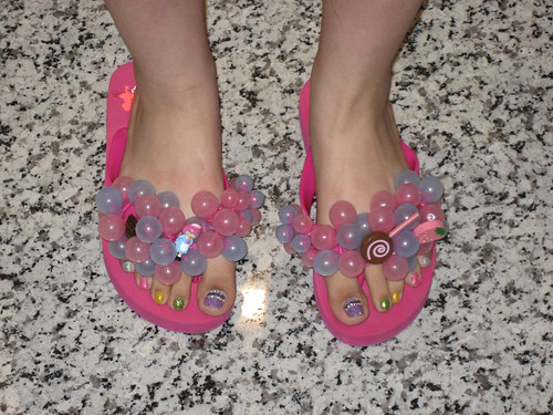Bubblebum flip-flops