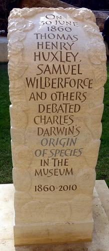 Origin of Species 'Great Debate Plinth' 2