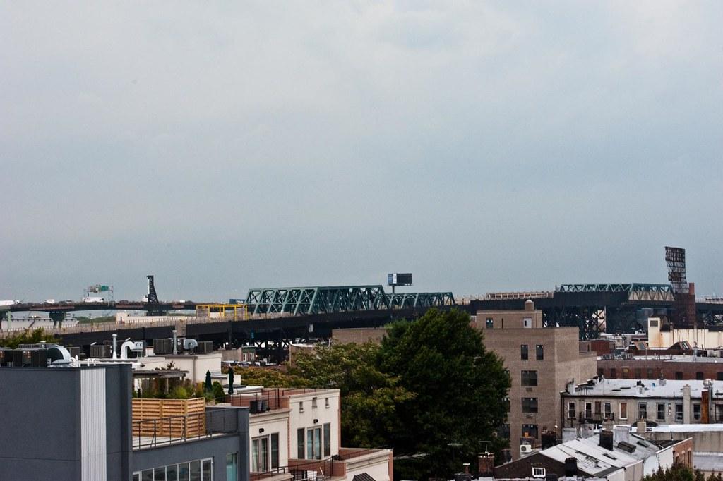 Storm/Tornado coming through Brooklyn