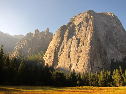 Sunrise Meadow, Cathedral Spires