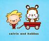 Kawaii Calvin and Hobbes