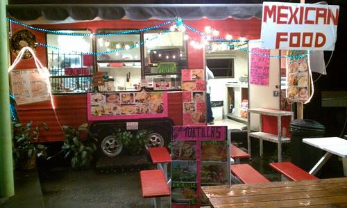 Mexican Food Cart Portland