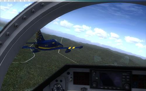 Volando en formación - Puesto #2 de L-39C