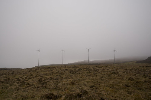 Windfarm on Eigg