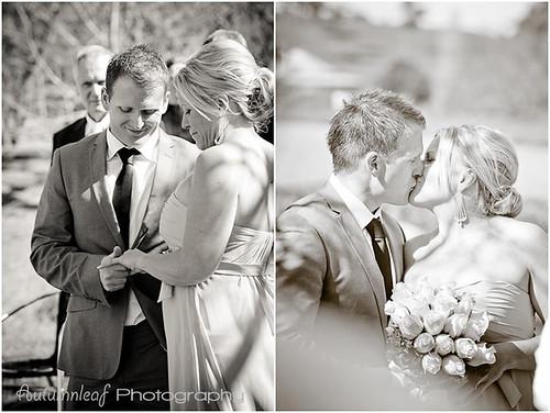 Angela & Jason's Wedding -  Ring and Kiss