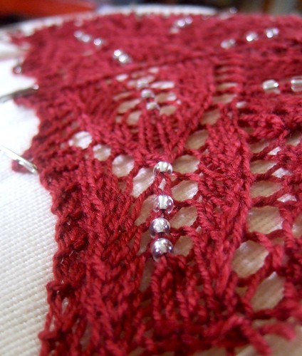 Maia beads - up close