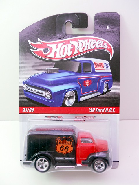HOT WHEELS DELIVERY SERIES '49 FORD COE (1)