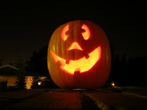 doofus pumpkin - Halloween 2010