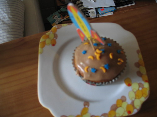 sickbed cupcake