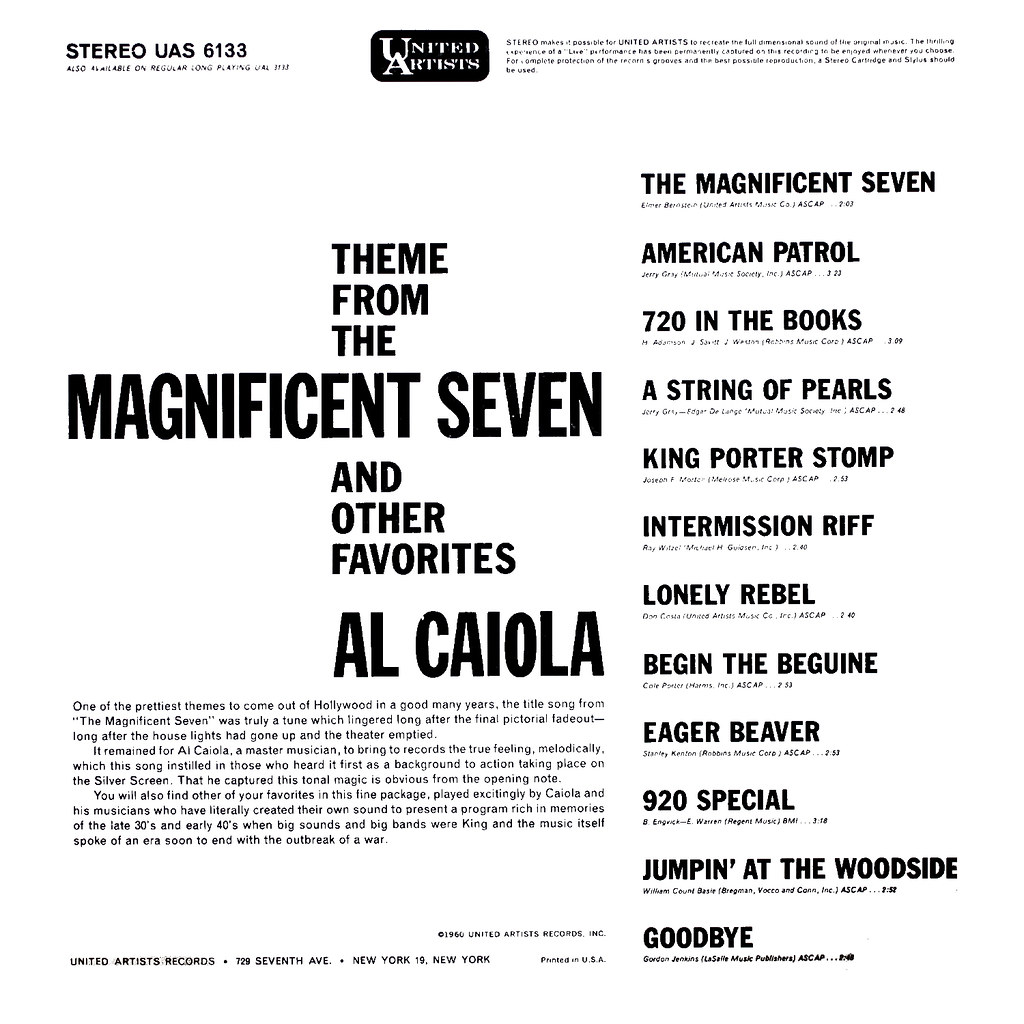 Al Caiola - The Magnificent Seven