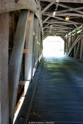 Gibson-Harmony Hill Covered Bridge - HDR 002