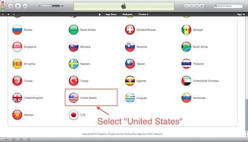 iTunes Store 10.0 Free US Account (5/6)