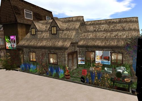 Treet.TV Expo: Designing Worlds Cottage