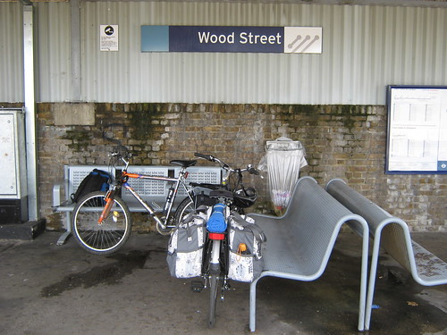 Our bikes at Wood St