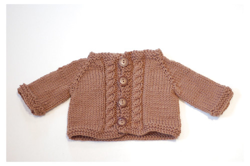 Bitty Cabled Cardi