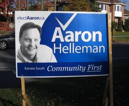 Aaron Helleman Sign